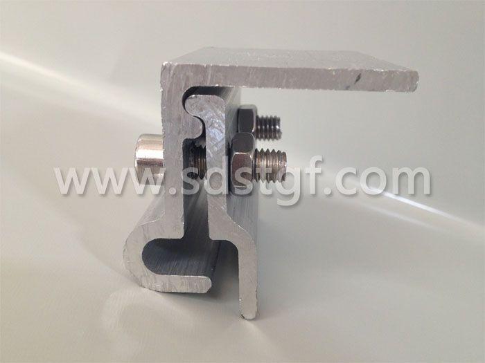 角驰金属屋面与太阳能光伏电池板固定转接件边板肋 编号B-002