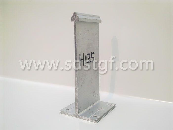 H135铝合金固定支座铝镁锰板支座
