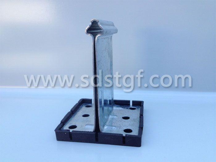 直立锁边镀铝锌板固定支座