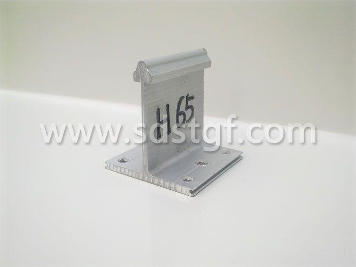 H65铝合金固定支座铝镁锰板支座