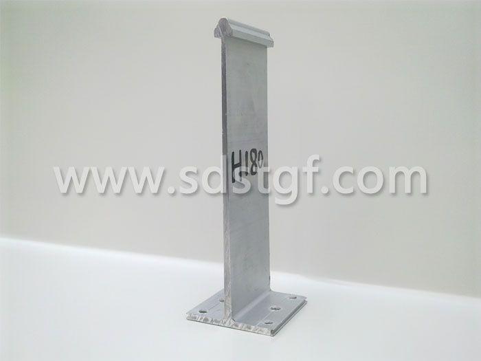 H180铝合金固定支座铝镁锰板支座