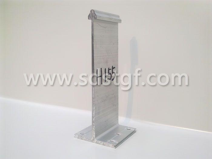 H155铝合金固定支座铝镁锰板支座