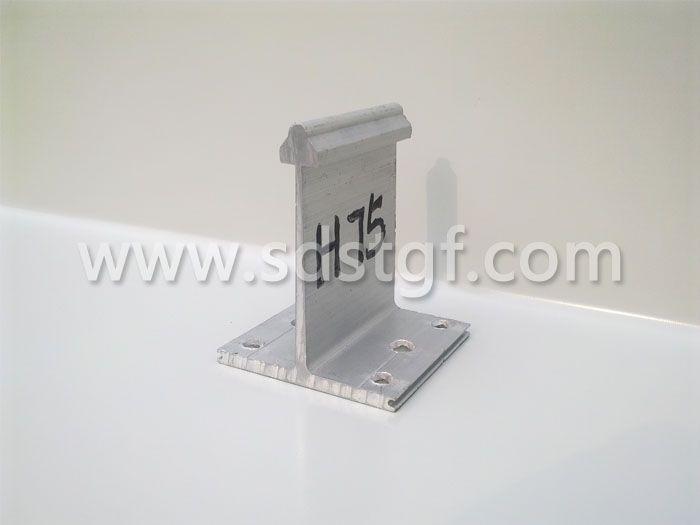 H75铝合金固定支座铝镁锰板支座