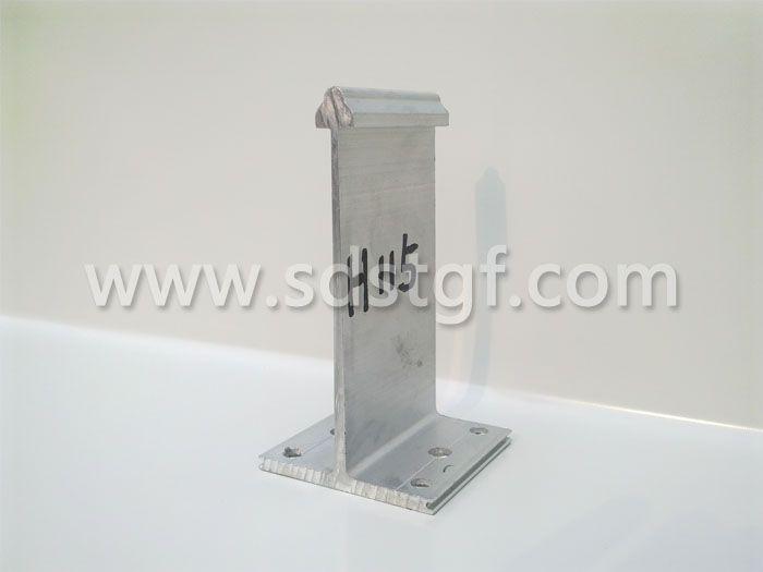 H115铝合金固定支座铝镁锰板支座