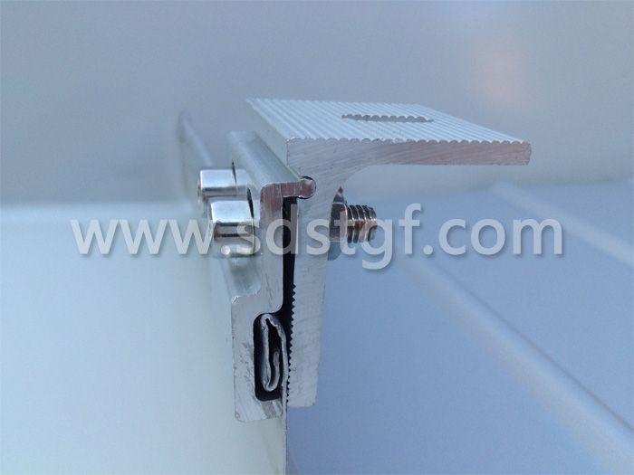 360度锁边金属屋面板夹具 编号C-002