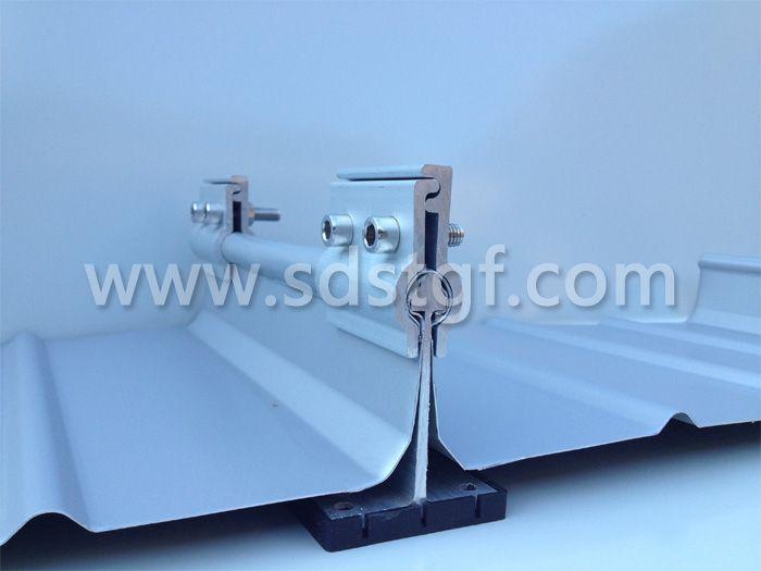 直立锁边屋面夹具适用于65直立锁边屋面编号A-004