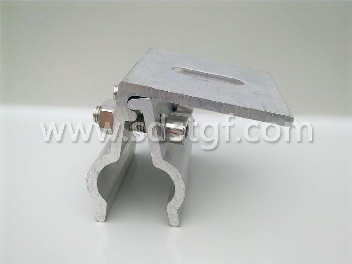 直立锁边金属屋面与太阳能光伏电池板转接件 编号A-003