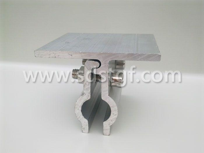 直立锁边金属屋面与太阳能光伏电池板转接件 编号A-002