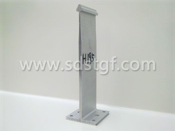H195铝合金固定支座铝镁锰板支座