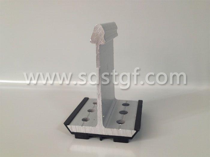 铝合金固定支座高端铝镁锰板支座