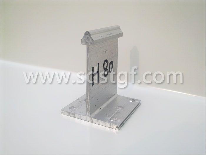 H80铝合金固定支座铝镁锰板支座